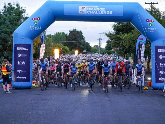 Central West region showcased as part of challenging bike ride