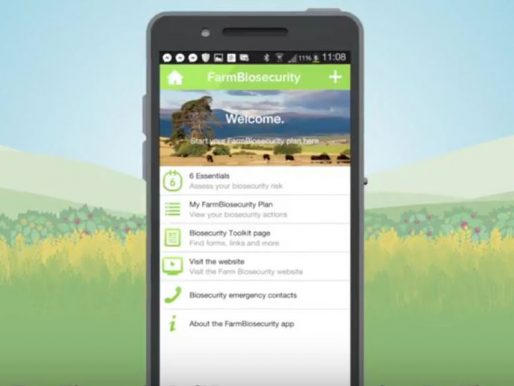 FarmBiosecurity planning app