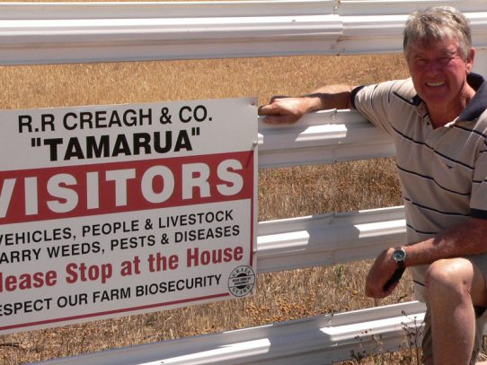 Who is the next Farm Biosecurity Producer of the Year?