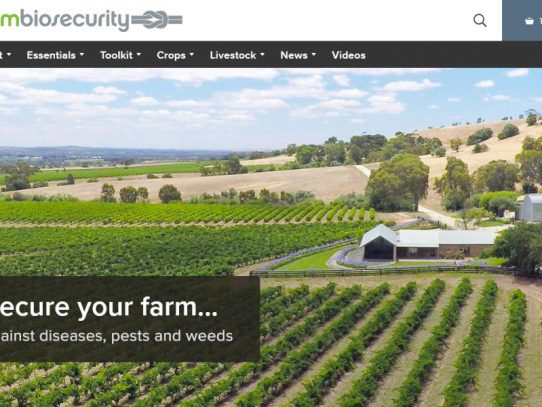 Introducing the new-look Farm Biosecurity website