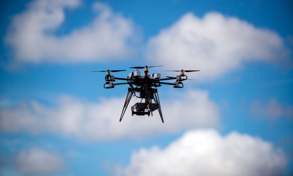 Warning to drone flyers – keep away from floods