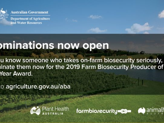 Secured your farm? You may be the Farm Biosecurity Producer of the Year